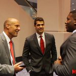 The #Huskers hit #B1GMediaDay. More Photos: http://t.co/xbfjsJ468m http://t.co/RUwzSeWZiF