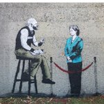"""This is so awesome! """"You are not on the list"""". #bcpoli #streetart #iheartstencils #christyclark http://t.co/sv4Cy5x5ar"""