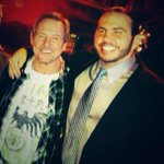 Saddened to hear that Roddy Piper passed away. He became a friend after being a childhood wrestling hero. #RIPHotRod http://t.co/dtNXn3YphO