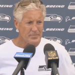 Coach @petecarroll speaks to the media after day one of #SeahawksCamp. VIDEO [http://t.co/dLrbTEJtMq] http://t.co/Yihf8V9PMM