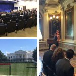 .@CalPoly physics prof. John Keller was on hand for today's #PAEMST event at the #WhiteHouse. Check out his photos! http://t.co/ELwDAVaIWd
