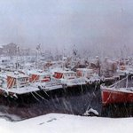 1 de agosto de 1991. Puerto de Mar del Plata con nieve http://t.co/LsLKYWImJS