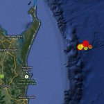 Thereve been 6 tremours off Qlds Fraser Island since Thursday. #earthquake @abcnews http://t.co/Q2tpq52zrM
