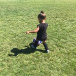 Last pic of my baller baby! Shes doing so good Im just so proud! ⚽️⚽️⚽️ http://t.co/HLYQehkoVl