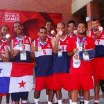 Panamá gana medalla de bronce en la disciplina de baloncesto @pandeportes #YoCreoPanama #esfuerzo #lucha http://t.co/qGt9eNv2wv