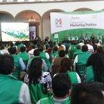 Inicia ceremonia de clausura del #SeminarioMT  con la gran #FamiliaMT que encabeza nuestra líder @AnaLiliaHerrera http://t.co/IBdiCa1pZU