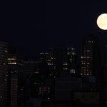 Breathtaking #bluemoon rise tonight #NYC #weehawken @StormTeam4NY #nbc4ny @EmpireStateBldg http://t.co/xzezrMCapE