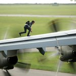 Why do the stunts look real? Because they ARE real. #MissionImpossible Rogue Nation. http://t.co/SVYStseax9 http://t.co/Aimkfpwdou