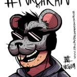 @RataoBorrachudo Ilustração que fiz pra tu @RataoBorrachudo! #ForcaRato #RATAO1M http://t.co/HyAeBCP1BQ