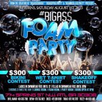 #BigASSFoamParty  3 Rooms. 3 Times The Fun.  DOORS OPEN AT 9 PM  714 Spring ST NW ATLANTA,GA  http://t.co/8n377v5icJ