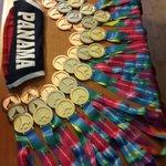 Maravillosa cosecha! 41 medallas a hoy viernes! Mañana último día de competiciones #orgullonacional #héroes http://t.co/kHJc5UF8h2