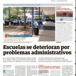 #EscuelasEnRuina Escuelas se deterioran por problemas administrativos http://t.co/IZVtmktW0Y #ProvinciasPA http://t.co/rNExxEeR5b
