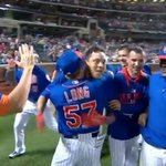 VIDEO: Tears of sadness to tears of joy, Mets Wilmer Flores hits walk-off HR in 12th vs. Nats http://t.co/kvICOfsHCh http://t.co/MV7fTeUmVD