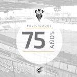 ¡Feliz aniversario al @AlbaceteBPSAD! El club manchego cumple 75 años. ¡Enhorabuena! http://t.co/EqSNEm9L8o
