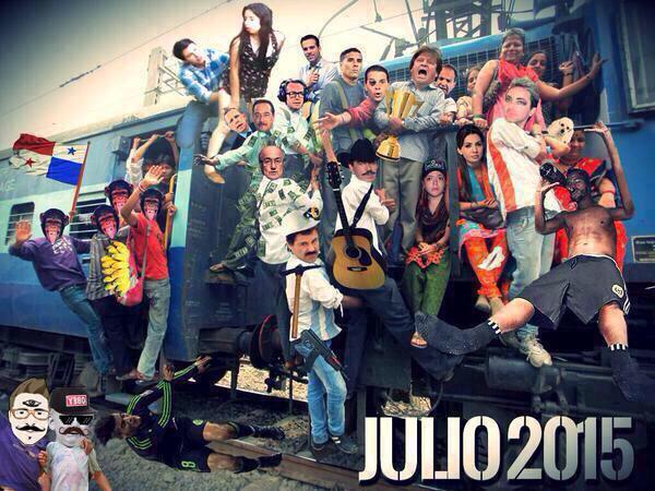 Adolfo Díaz Rufo (@rinconderufo): #SeAcaboJulioY el tren del mame fue el mejor del año http://t.co/cdSlBQluiR