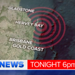 Queensland rattled by a 5.7 magnitude earthquake and several aftershocks. @TessaScott9 has the latest #9NewsAt6 http://t.co/Ofts9glHF4
