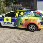 YES to the #BrightonPride police cars in #brighton 💖🌈💖 http://t.co/A8nVC9BBsW