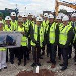 Hitman @PeteWatermanOBE helps launch @UTCWarrington ground breaking ceremony #Warrington http://t.co/qy5uUfBBwA http://t.co/olYhdUQL8C