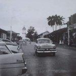 La calle principal de la ciudad de Santiago, @Veraguas09, en una foto de los años 50. #panama http://t.co/4gZeUzDvYx