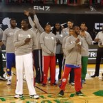 .@LuolDeng9 and @CP3 say thank you to Africa for all the support. #NBAAfricaGame http://t.co/IJbYcv6TSB