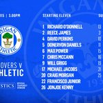 TEAM NEWS: Latics starting XI and substitutes for todays friendly against @OneRovers #wafc http://t.co/2OSgAuM0PX