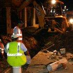 """El @IDAANinforma que reparación de línea de 8"""" en Jardines de Mastranto culminó a las 9:00 de la noche de ayer http://t.co/ussuPaw6BN"""