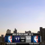 #TeamAFRICA leads 30-17 after 1Q on @ESPN behind Batum's 5-2-3 in the 1st ever #NBAAfricaGame! http://t.co/dtdj37OuAD