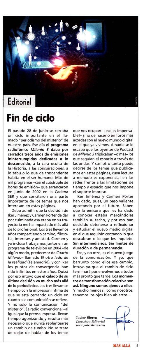 ¿Por qué terminó #Milenio 3? Reflexiono sobre la decisión de @navedelmisterio en mi último editorial en @masalla http://t.co/i5OHW0DEXC