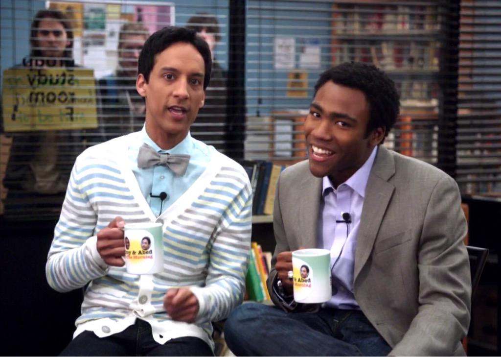 Troy and Abed in the morning. http://t.co/kvqRF9nOLZ