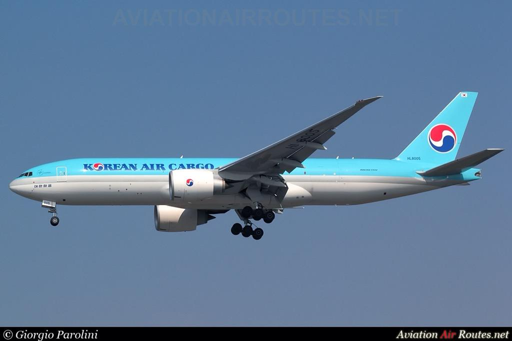RT @AviationAirRout: @KoreanAir_KE @aptlombardi @boeing777tweets @BoeingAirplanes  By Giorgio