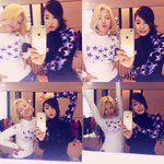 SNSD Hyoyeon with Tiffany from Instagram http://t.co/Jdq6B9JxlM