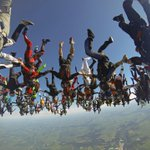 World record skydiving formation - in pictures http://t.co/HhAMK2wrOb http://t.co/1xlS9SweOP