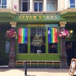 HAPPY PRIDE BRIGHTON! 💛💚💜💙❤️  Weve got booze from @bisonbeer & @sipsmith, and food from @littlebluesmoke ! #Pride http://t.co/it4LlJPFBY