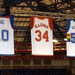 @NBA The jerseys of African legends Manute Bol, @DR34M & @officialmutombo hang above the first ever #NBAAfricaGame! http://t.co/CGWm5H272P