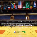 Ellis Park Indoor Arena in Johannesburg awaits the first ever #NBAAfricaGame, 9am/et on @ESPN! http://t.co/tMzpDhvxQX