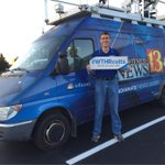 Im replacing Reggie Wayne with grand entrance to #ColtsCamp. Im driving this beast to @AndersonU. #WTHRcolts http://t.co/g5Lfi3CJ2M