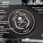 The @Orlando_Pirates line-up vs @Kaizer_Chiefs in the #BlackLabelCup at the @FNBStadium http://t.co/tn13QgH15m