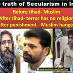 "RT IF YOU AGREE :~ ""आतंकवाद"" is Called ""Terrorism"" in US, ""Jihad"" in Pakistan & ""Secularism"" in India #YakubHanged http://t.co/X4FwAXOI2Y"