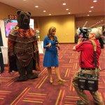 Goodmorning #gencon2015! Brunin is on live on @FOX59 w/ @JillianDeam! http://t.co/6EB67X9Qzi