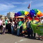 Happy Pride everyone! B&H Greens celebrating diversity and tolerance in #Brighton & #Hove #brightonpride http://t.co/n4UDmgkSig