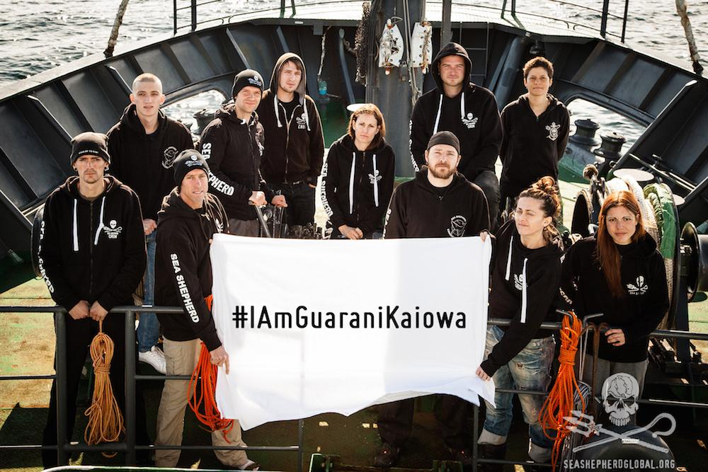 RT @seashepherd: #SeaShepherd #IamGuaraniKaiowa A message from @CaptPaulWatson http://t.co/SVLDhE84my http://t.co/IAgRBg3vbh