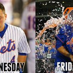 Thought he was traded on Wednesday, walked off on Friday. Wilmer Flores had a really emotional week. http://t.co/MT5leLKiUQ