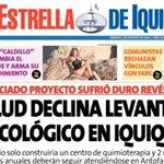 Nuevo engaño con regiones, esta vez afectan la salud y vida en #Iquique. Otro incumplimiento de @GobiernodeChile http://t.co/RnpZosnsVt