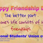 A real friend is one who walks in when the rest of world walks out. Keep that one safe & close. #HappyFriendshipDay http://t.co/E9V9wh5Fyu