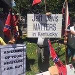 In light of controversies over the confederate flag and Jefferson Davis statue... #fancyfarm http://t.co/t79IkFwAqr
