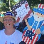 Also, national politics. A Ben Carson supporter represents. #fancyfarm http://t.co/7dyB1iyvcw