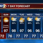 Here is your 7-day forecast for the #BatonRouge area: http://t.co/6XnVo7gUnr