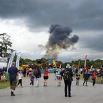 Plane crash at Carfest North event at Oulton Park hosted by Radio 2 DJ Chris Evans http://t.co/5DtPf8zg5E http://t.co/cNTQRMDCWH
