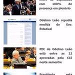 Está disponível o boletim informativo com o resumo das atividades da semana do Deputado Federal Odelmo Leão. http://t.co/U8W3evJ7Sv
