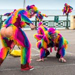 A lot of rainbow monkey business earlier at Brighton #pride2015 ;-} photos from Hove Lawns http://t.co/FLvAlPwC8G http://t.co/XeTCvfBgzt